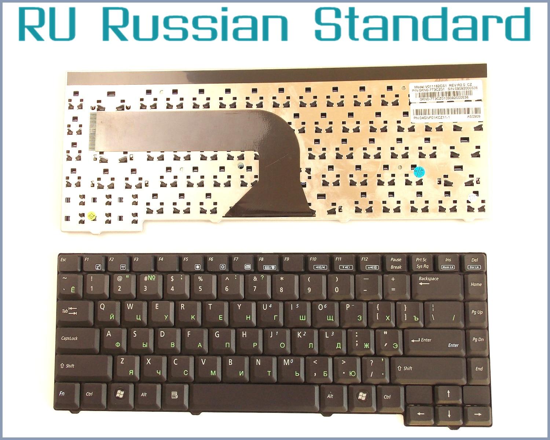Russe RU Version Clavier pour ASUS X58C, X58L, X58 X51 X51S X51C X51H X51L X51R X51RL NSK-U500R K011162G1 ordinateur portable