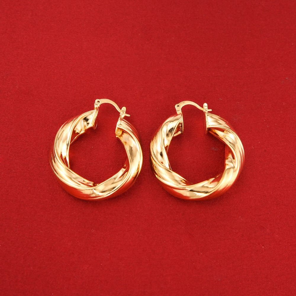 African Hoop Earring Jewelry Thick Size Round Hoop Earring Jewelry Women Earring one direction where we are 100
