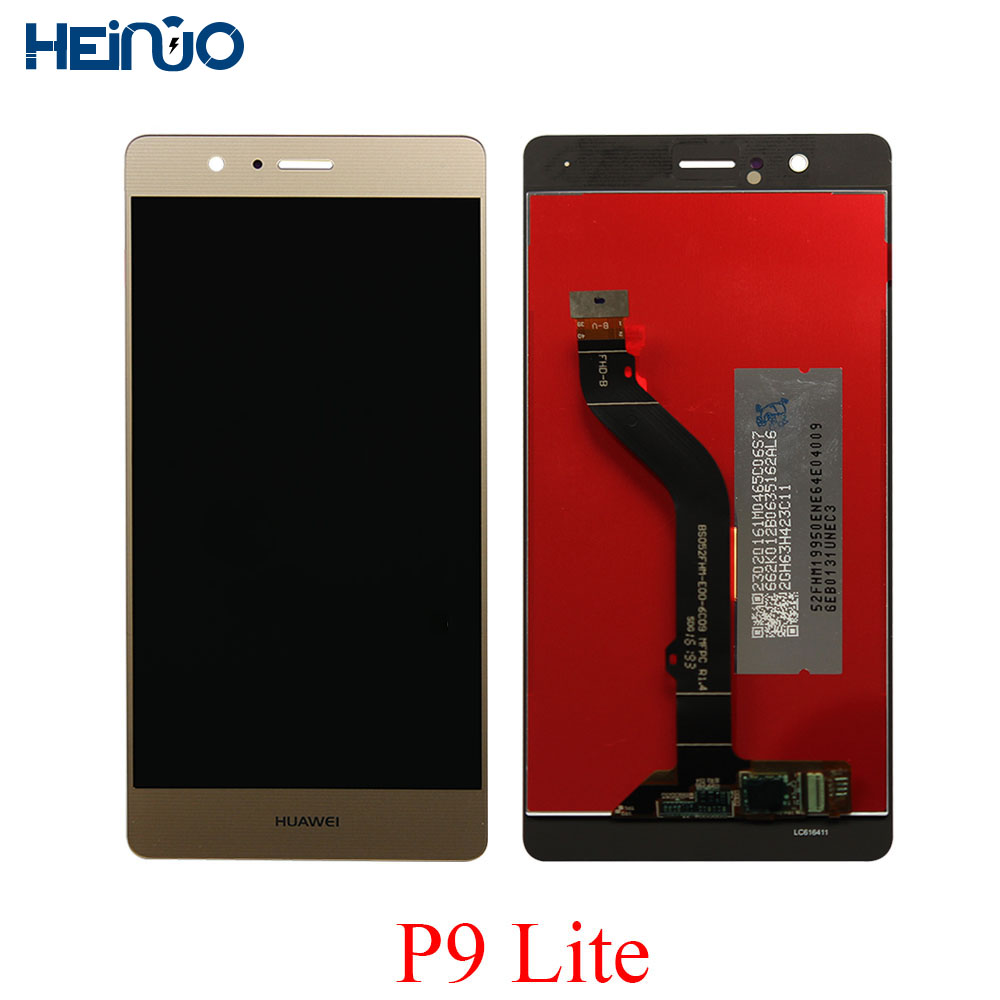 High Screen For Huawei P9 Lite lcd display P9 Lite touchscreen Panel Glass sensor Ecran Digiziter Assembly Replace Parts + tools