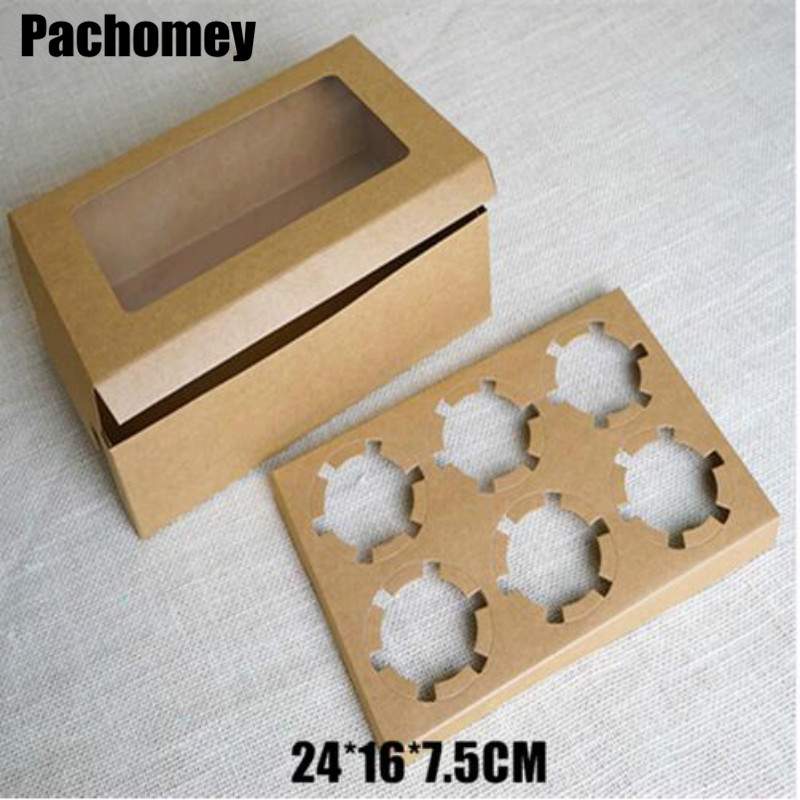 Handmade Soap Jewelry Candy Boxes Kraft Brown Gift Packaging Boxes 24 16 7 5cm 20pcs lot