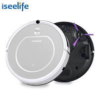 2017 ISEELIFE Intelligent Robot Vacuum Cleaner For Home PRO1 HEPA Dry Auto Charge Smart Cleaning Robotic