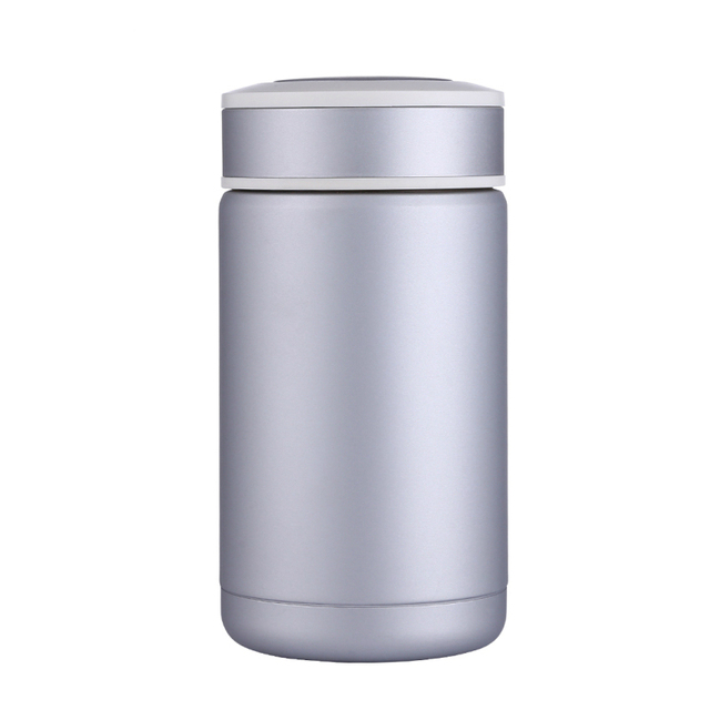 400ml coffee thermos bottle thermo mug thermocup insulated vacuum cup glass tumbler thermal flask with filter - Glass Thermos