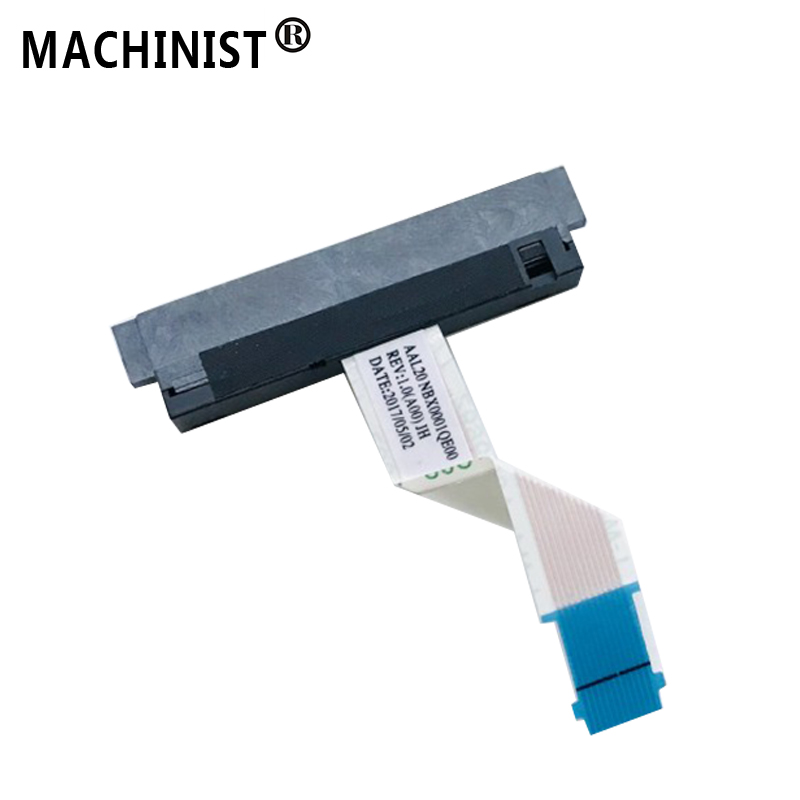 HDD Connector Flex Cable For <font><b>Dell</b></font> 5455 5458 5459 <font><b>3458</b></font> 3459 laptop SATA Hard Drive SSD Adapter wire 450.09W04.0011 image