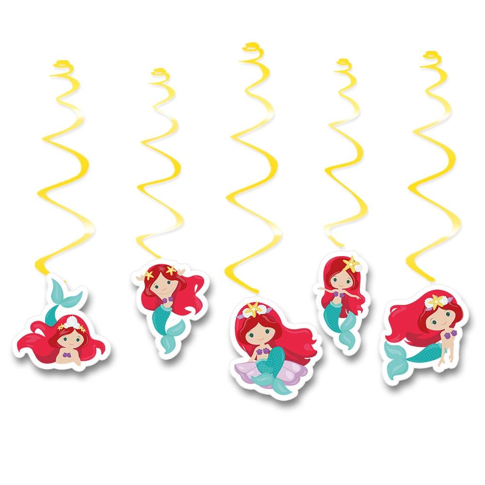 red-hair-mermaid挂饰