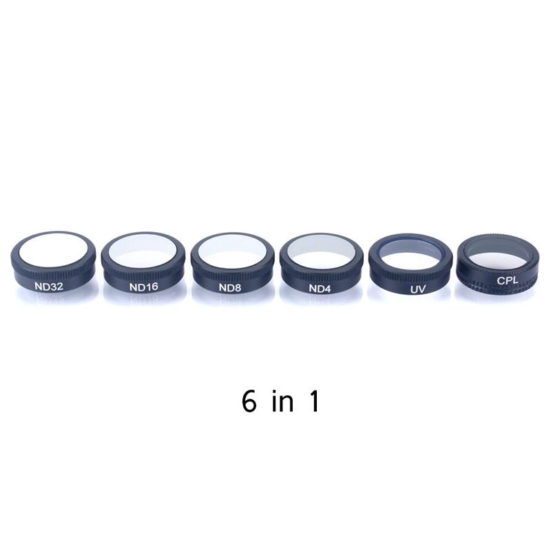 New Waterproof Drone Camera Lens For DJI Mavic Air Filters ND4/8/16/32 CPL UV