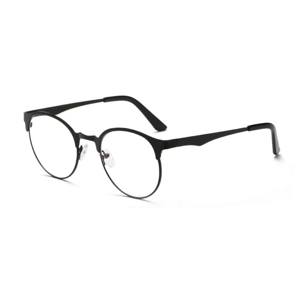 d1f4f46f2d4 Fashion simple border design anti-blue glasses Metal frame without strength  design