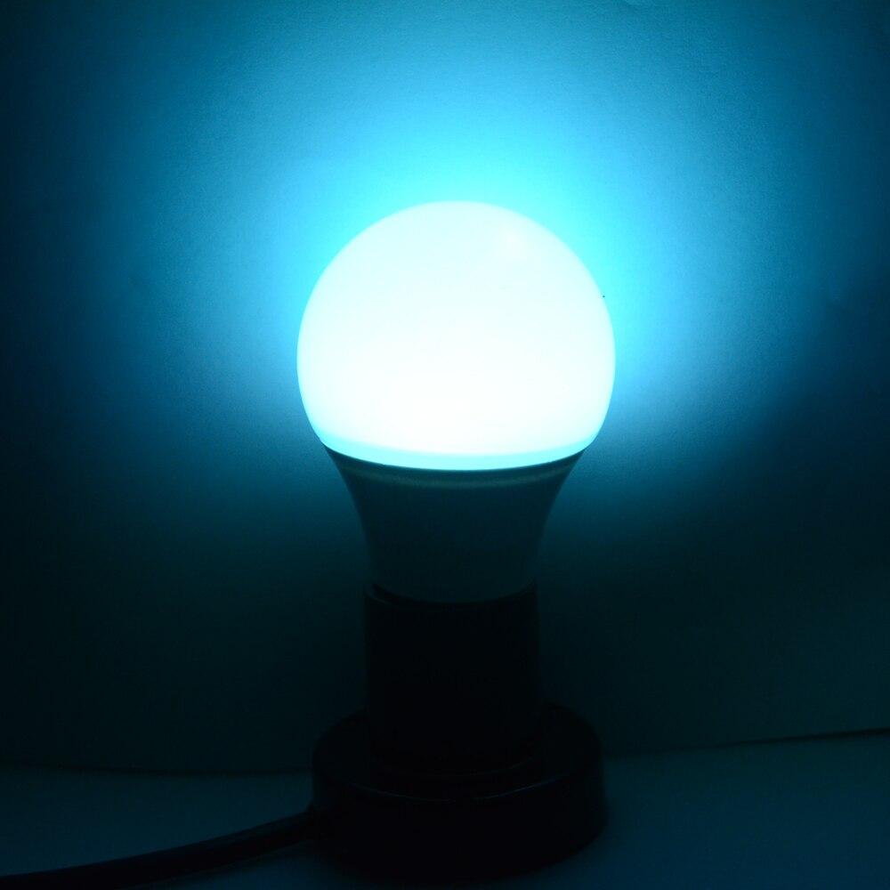 Foxanon Bluetooth 4.0 E27 ampoule 4.5 W RGBW AC85-265V led lampada smart Soptlight lampe changement de couleur pour l'économie d'énergie à la maison - 5