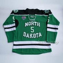 f6dedac68 Kowell North Dakota Fighting Sioux  5 jason blake Stitched Hockey  Jersey(China)
