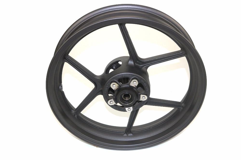 Motorcycle High quality Wheel Rims For KAWASAKI ER 6N ER 6F ER 4N NINJA400 VERSYS 650 ZX10R 2004 2005 Wheels Rims