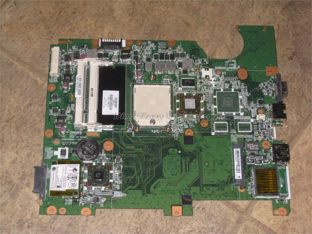 Original laptop Motherboard For hp compaq CQ61 G71 G61 G70 577064-001 577065-001 for AMD S1G3 cpu with integrated graphics обложка для документов ted baker london ted baker london te019dwriy94