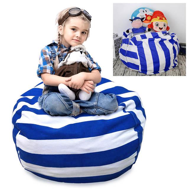 Online Shop Stuffed Animal Toy Storage Bag Space Saving Kid Clothes