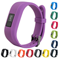 New Solid Replacement Smartwatch Band Silicone Wristband Strap For Garmin Vivofit 3 Wristband 13 Colors for Option