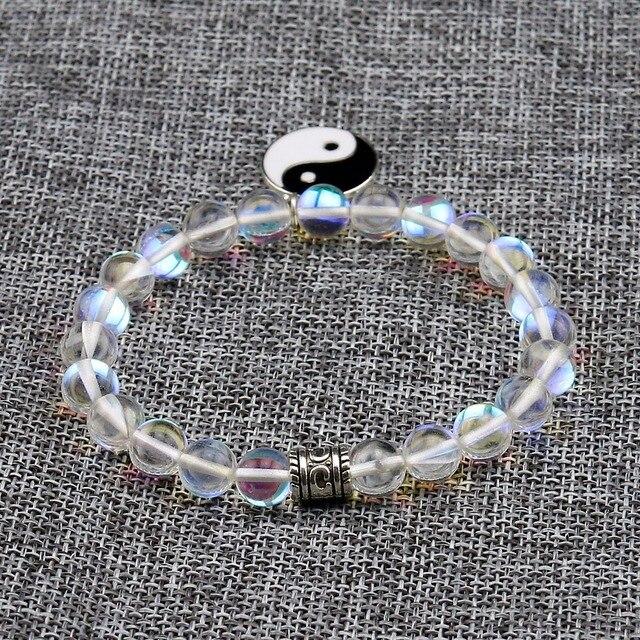 Bracelet Arc En Pierre De Lune