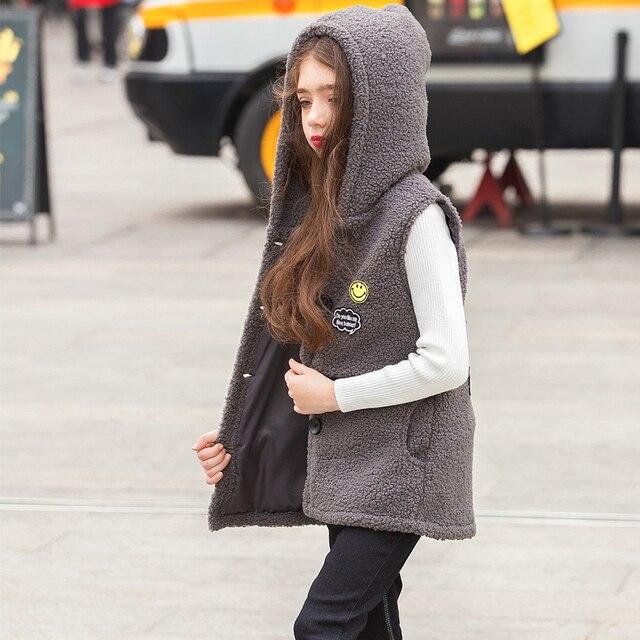 Adolescent Plus Veste Filles De Hiver Gilet Coréenne Enfant Automne rIqrxH0wR