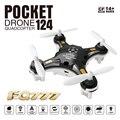 Mini dron fq777 124 nano quadcopter 6 canales 6axis rtf control remoto mi drones helicóptero rc toys para niños regalos
