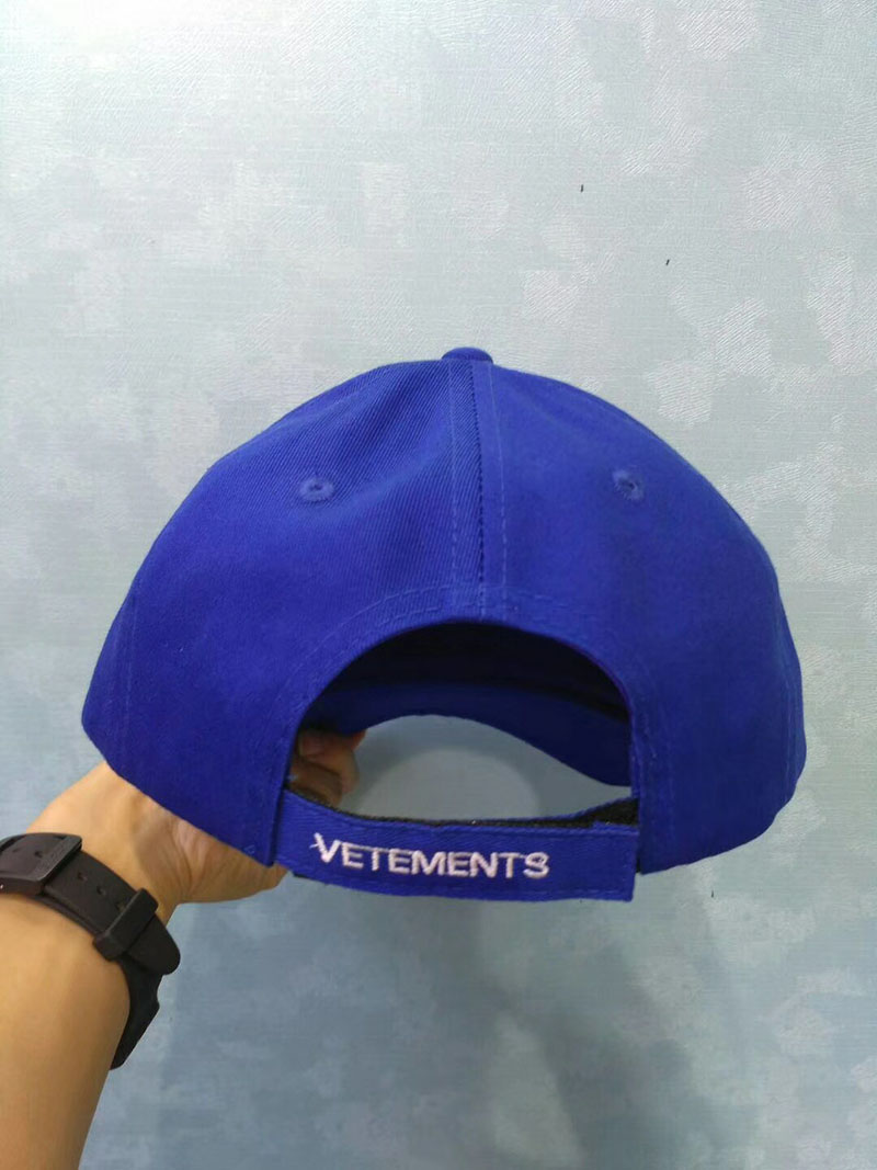 07012901fa34a6 Vetements Hat Men Women Summer Streetwear Embroidery Vetements Caps ...