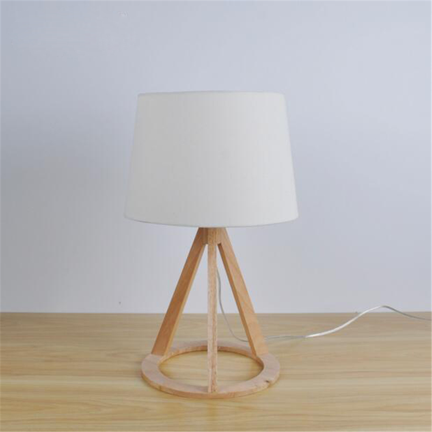 2017 LFH Nordic Modern Wood Table Lamps Simple Oak Wood Iron Desk Lamps  Reading Lamp Bedside. Popular Oak Table Lamps Buy Cheap Oak Table Lamps lots from China