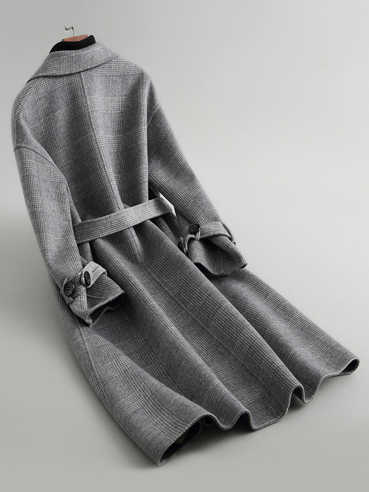 Longs Vintage Des Huibaigei Fourrure Femmes Manteau Angleterre Laine Zt1658 Hiver De Veste Vêtements Manteaux Automne Femme 2018 Coréen wZUqO