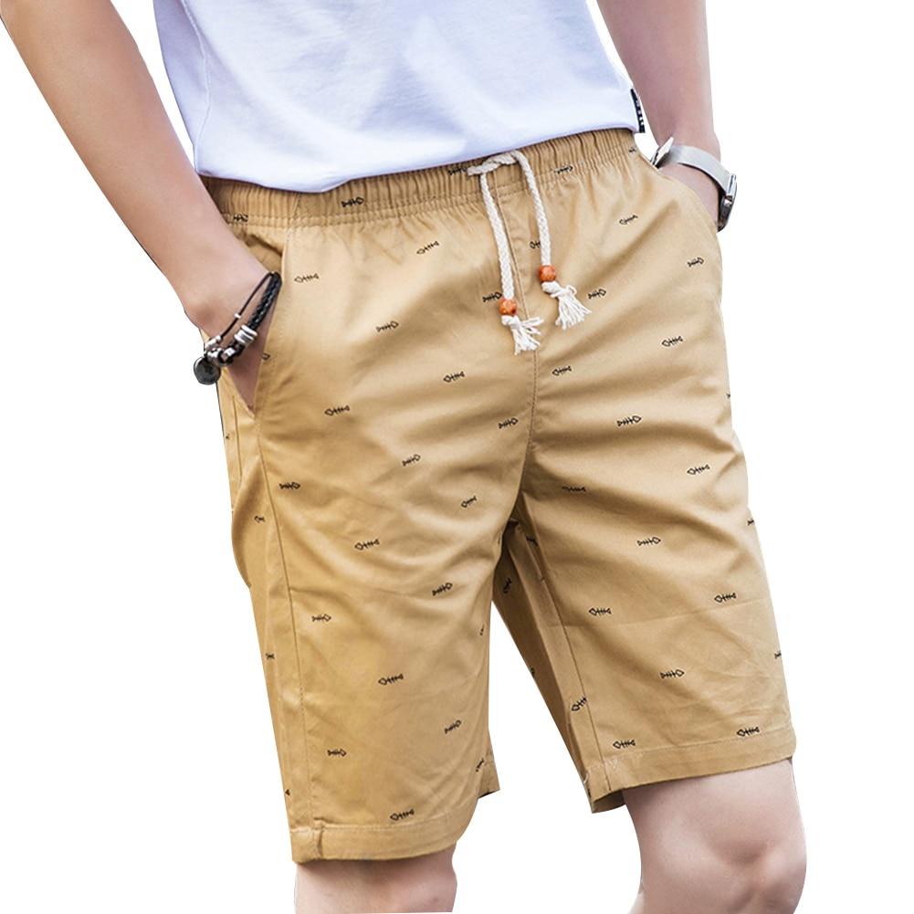 Men Shorts Clothing Beach-Board Quick-Drying Summer Sandy