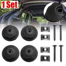 4pcs Car Cargo Trunk Mounting Point Auto Rear Organizer Luggage Net Hardware Hanging Hook with Screw