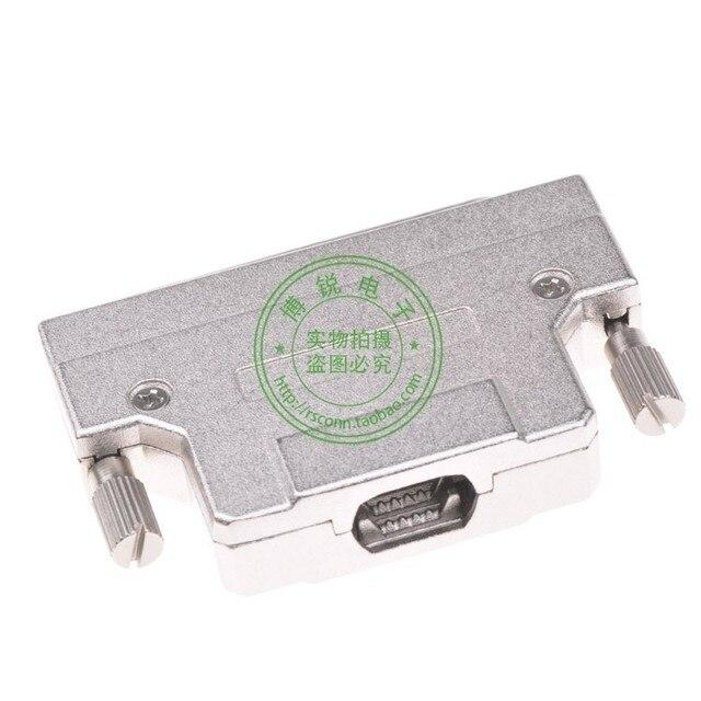 Тайвань HPDB68P мужской конец разъем провода стали винтового типа SCSI SCSI разъем