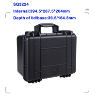 IP67 rating plastic transport case,hard carrying case for tools