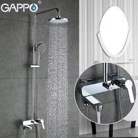 GAPPO Shower Faucets bath tub mixer bathroom waterfall faucet Bath tub taps wall mount Shower System