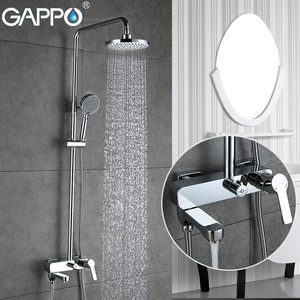 Image 1 - GAPPO Duş Musluk küvet mikser banyo şelale musluk Banyo küvet musluklar duvara monte duş Sistemi