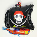 Fun Outdoor Inflatable Balls Pirate Ship Foil Balloons Party Birthday Decoration Gifts Toy Inflatable Air Toys For Kids