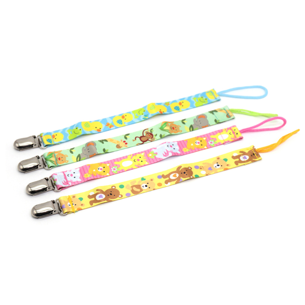 1PC New Baby Pacifier Clip Pacifier Chain Dummy Clip Nipple Holder For Nipples Children Pacifier Clips Soother Holder