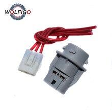 Connector-Harness WOLFIGO for HONDA ACCORD CIVIC CRV ODYSSEY PILOT RLX CL TSX Front-Turn-Socket
