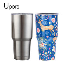 6a2a3fa22f4 UPORS Travel Mug 20 30 OZ Ice Drink Tumbler Stainless Steel Double Wall Vacuum  Coffee Cup