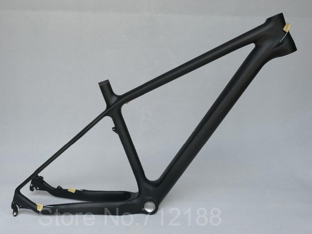26er Carbon MTB Rahmen 142mm Steckachse/135mm BSA/BB30 Carbon Matt ...