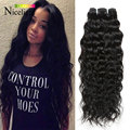 Aliexpress Hair Burmese Water Wave Virgin Hair 4Bundles Wet n Wavy Burmese Virgin Hair Natural Curly Weave Human Hair Extensions