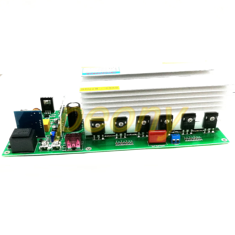 Air Conditioning Appliance Parts Automatic Identification Of 24-72v Input Voltage Of Power Frequency Sine Wave Inverter Motherboard 7500va Home Appliance Parts
