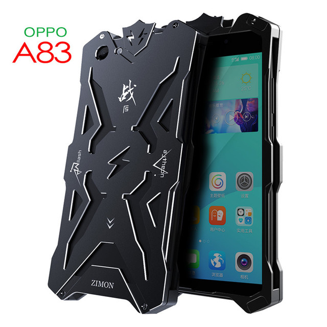 best website 124aa 2bb6d US $15.99  For OPPO A83 Case Zimon Original Armor Heavy Dust Protection  Shockproof Aluminum Metal Cover for For OPPO A83 Cover Capa Coque-in ...