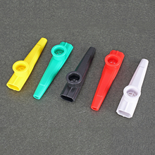 Plastic Kazoo Five Colors Instrument Ukulele Guitar Partner  Easy To Learn Gift for Kids Convenient Carry002