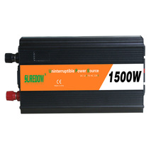 1500W Solar Inverter Multifunctional Travel Power Supply Control Dual USB Car inverter 12V 24V to 110V 220V Mobile phone charger