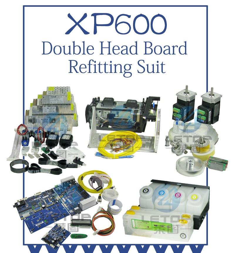 ダブル XP600 プリントヘッド HOSON プリンタ用 update または dx5 dx7 5113 プリンタ変換に xp600 プリンタ  グループ上の パソコン & オフィス からの プリンタ部品 の中 1