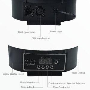 Image 3 - Atotalof DMX etap światła kryształ magiczna kula dyskotekowa RGB lampa sceniczna LED kontrola dźwięku DMX512 oświetlenie na imprezę dla KTV klub Bar ślub