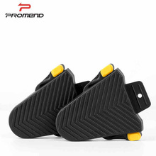 PROMEND Urltralight Bike Pedal Cleats Cover Rubber Road Bike Cycling shoes cleats protection SPD-SL Pedal Cleat Bicycle Parts цена