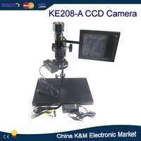 30-180X KE208-A Electronic Video Eyepiece Microscope CCD camera system with VGA Interface