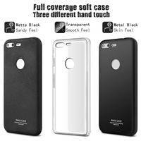 For Google Pixel XL TPU Case 5.5'' IMAK Full Coverage ShockProof Soft TPU Silicone Case Back Cover Free Soft Screen Protector
