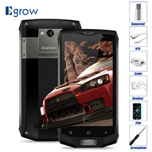 "Original blackview BV8000 pro MT6757V octa Core Android 7.0 impermeable teléfono móvil 5.0 ""teléfonos celulares 6g Ram 64G ROM Smartphone"