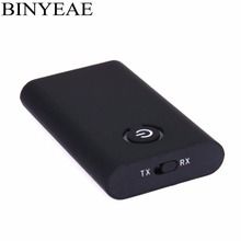 Binyeae Bluetooth 4.2 Aptx low latency CSR8670 Music Transmitter Receiver mini A2DP Wireless home stereo audio TV Adapter