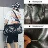 NEWBOLER Gym Bag Leather Women Fitness Shoe Compartment Men Duffle Shoulder Bags Waterproof Travel Training Large Sport Handbag  3