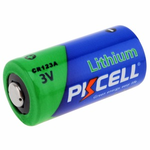 Image 2 - 2 x PKCELL  2/3A Battery 16430 CR123A CR17345(CR17335) 1500mAh 3V Lithium Battery Batteries