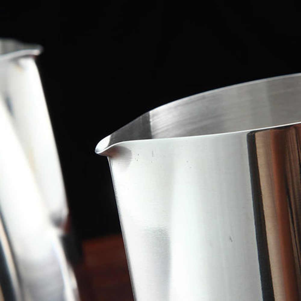 350ml ญี่ปุ่นสไตล์ Expresso สแตนเลสสตีลครัวหัตถกรรมกาแฟ Frothing นมเหยือก LATTE