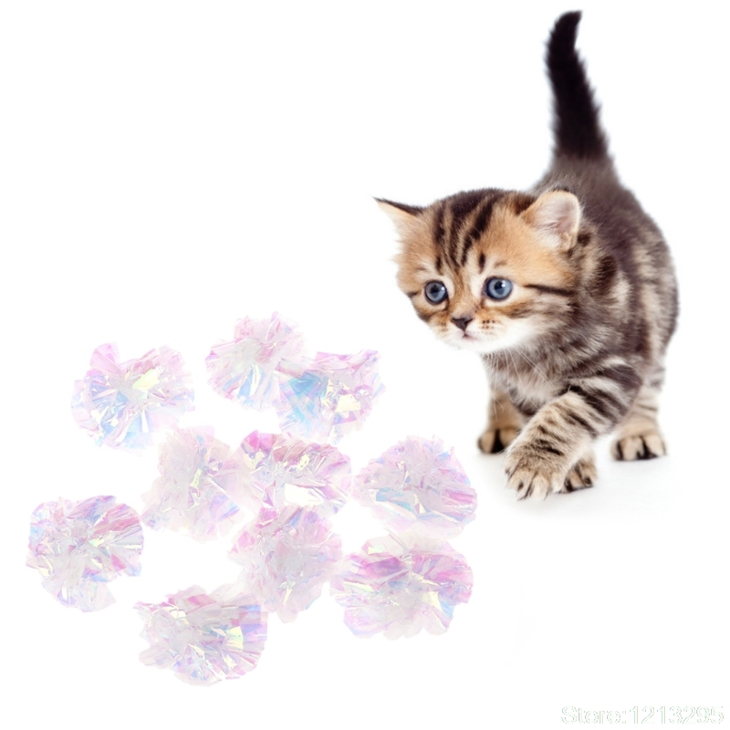New 5pcs Cat Toys Eva Flower Ball Soft Dog Puppy Kitten Chew Bite Interactive Funny W215 Pet Products Cat Supplies