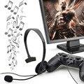 Nuevo manos libres de sobre-oído wired juego gaming headset auriculares auriculares con micrófono de brazo vol para pc video playstation ps4 negro